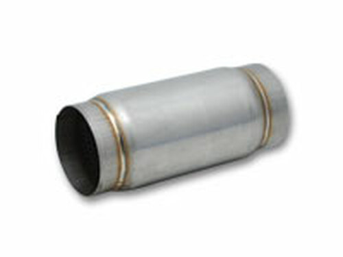 """Vibrant Performance - Stainless Steel Race Muffler, 4"""" inlet/outlet x 5"""" long"""