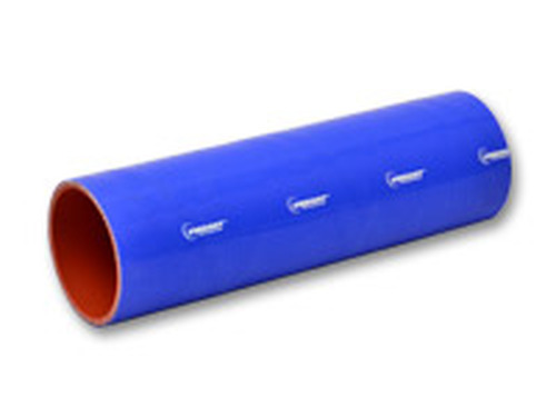 """Vibrant Performance - 4 Ply Silicone Sleeve, 1"""" I.D. x 12"""" long - Blue"""