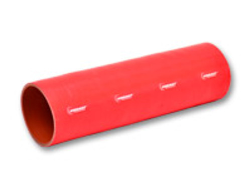 """Vibrant Performance - 4 Ply Silicone Sleeve, 4"""" I.D. x 12"""" long - Red"""