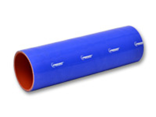 """Vibrant Performance - 4 Ply Silicone Sleeve, 1.25"""" I.D. x 12"""" long - Blue"""