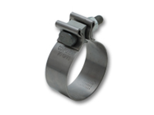"""Vibrant Performance - Stainless Steel Seal Clamp for 3 1/2"""" O.D. Tubing (1.25"""" Wide Band)"""