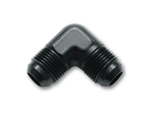 Vibrant Performance - 821 series Flare Union 90 Degree Adapter Fittings; Size: -3 AN