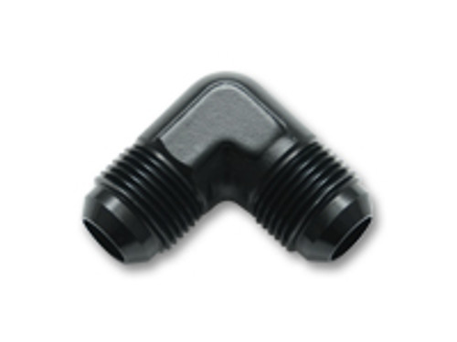 Vibrant Performance - 821 series Flare Union 90 Degree Adapter Fittings; Size: -4 AN