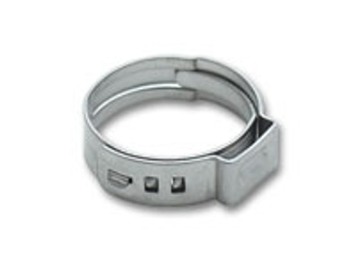 Vibrant Performance - Stainless Steel Pinch Clamps: 7.0-8.7mm (Pack of 10)