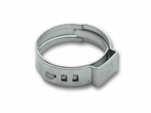 Vibrant Performance - Stainless Steel Pinch Clamps: 11.3-13.8mm (Pack of 10)