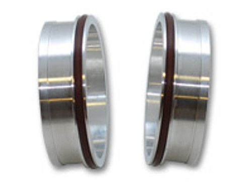 """Vibrant Performance - Aluminum Weld Fitting with O-Rings for 3-1/2"""" Tube O.D."""