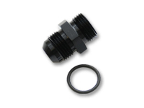 Vibrant Performance - -4AN Flare to AN Straight Cut Thread (3/4-16) with O-Ring Adapter Fitting