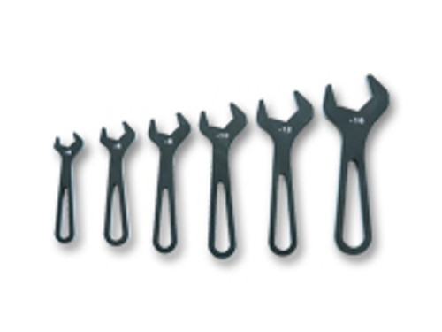 Vibrant Performance - AN Wrenches, Set of six (6) - AN-4 to AN-16) - Anodized Black