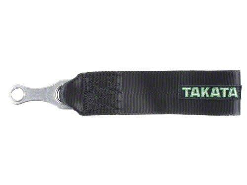 Takata 78009-0 Nylon Tow Strap Black