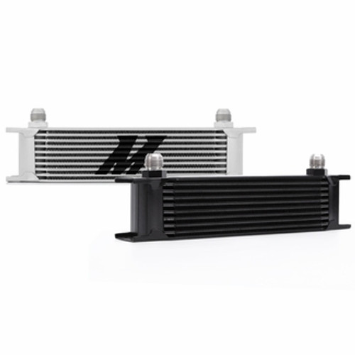 Mishimoto - Universal 10 Row Oil Cooler, Black