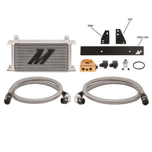 Mishimoto - Nissan 370Z/ Infiniti G37 (Coupe only) Thermostatic Oil Cooler Kit