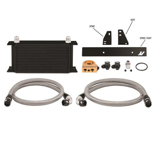 Mishimoto - Nissan 370Z/ Infiniti G37 (Coupe only) Thermostatic Oil Cooler Kit, Black