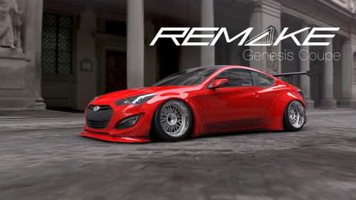 Remake Body Kit for Hyundai Genesis Coupe
