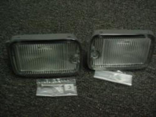 OEM Nissan 180sx Type-X bumper Lights (Squares)