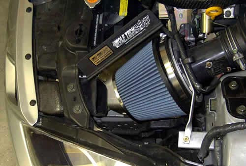 JWT Pop-Charger Air Filter w/Heat Shield. 350Z 03+