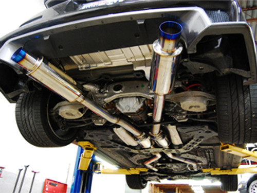 Aam Competition 3 In True Dual Exhaust Titanium Enjuku Racing