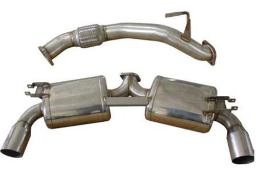 """berk True Dual 3"""" Exhaust - MR2 '90-'99"""