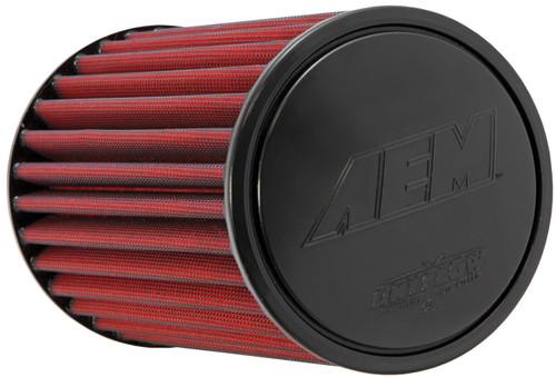 "AEM DryFlow Air Filter - Air Filter; 2.5"" X 9"" Dryflow"