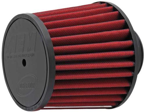 "AEM DryFlow Air Filter - Air Filter; 2.75"" X 5"" Dryflow- 7/16"" Hole"