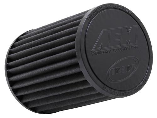 "AEM DryFlow Air Filter - Air Filter; 3.5"" X 7"" Dryflow"