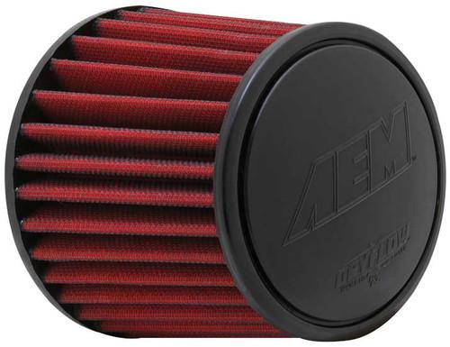 "AEM DryFlow Air Filter - Air Filter; 3.25"" X 5"" Dryflow"