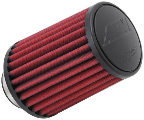 "AEM DryFlow Air Filter - Air Filter 2-3/4"" Flg, 5-1/2""B, 4-3/4T Dryflow"