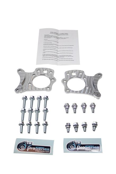 Pro-Series Fabrication Dual Caliper Bracket for Z33 350z / G35