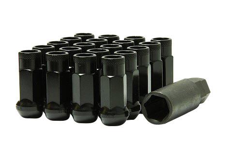 Muteki SR48 Black Open End Lug Nuts 12x1.50