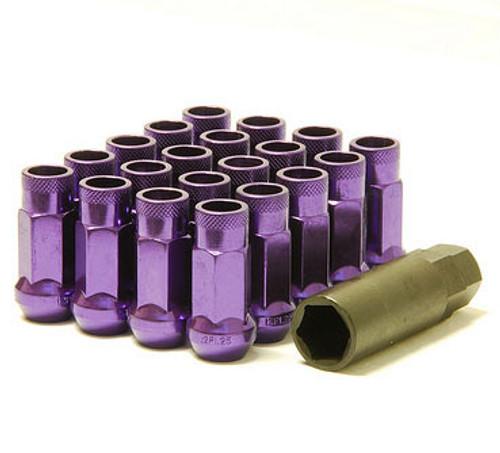 Muteki SR48 Purple Open End Lug Nuts 12x1.5