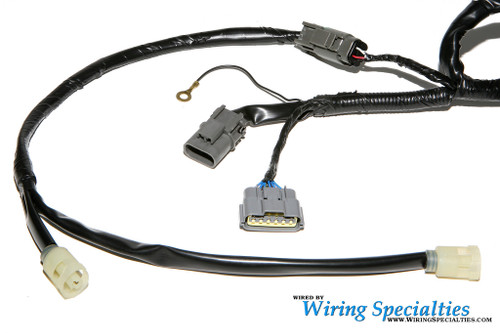 wiring specialties rb20det pre-made swap harness for nissan 240sx s13