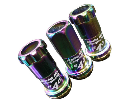 Project Kics Neo Chro Rainbow Lug Nuts