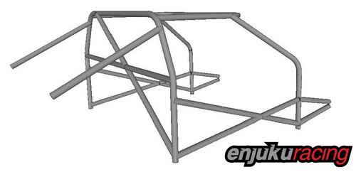 ER Spec Nissan 350z Drift Car Roll Cage