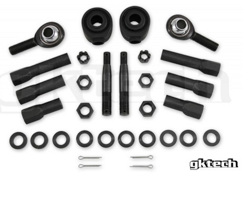 GKTech - High Misalignment Tie Rod Ends For Nissan 240SX S13 or S14 64 degrees (12mm/14mm)