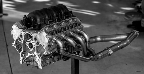 ISR Performance HGC LS Swap Header - Nissan 240sx 89-98 - 1 3/4