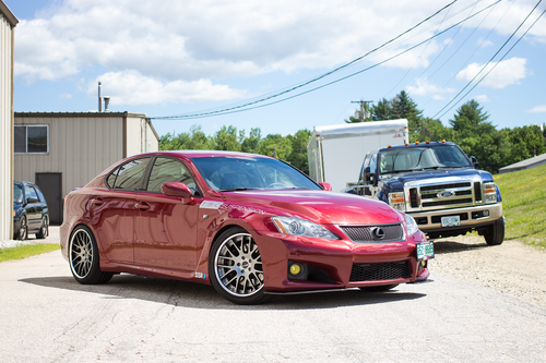ISC Basic Coilovers - Lexus ISF 2008-2014