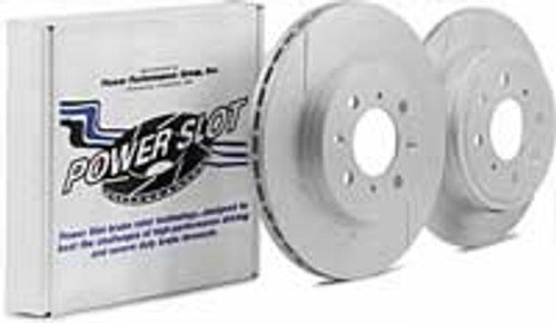 StopTech Sport Slotted Front Brake Rotors 03-05 350Z / 03-04 G35