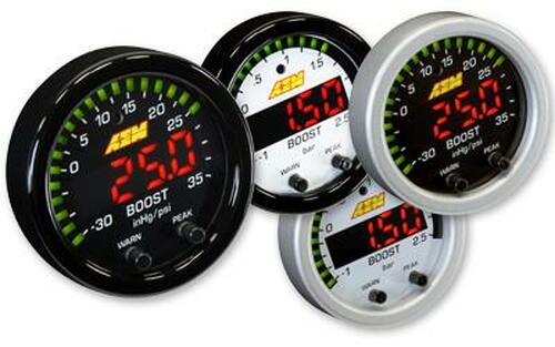 AEM X-Series Boost Gauge 30inHg to 35psi / -1 to 2.5 Bar