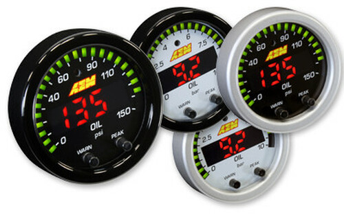 AEM X-Series Oil Pressure Gauge 0-150psi / 0-10bar