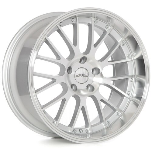 SQUARE Wheels G6 Model - 17x9 +15 5x114.3 (set of 4)
