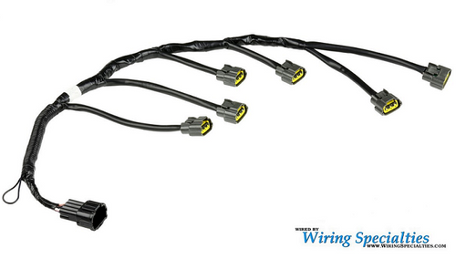 Wiring Specialties Pro Series Coil Pack Harness for Nissan RB20DET