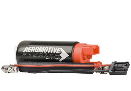 Aeromotive 340LPH Stealth E85 Fuel Pump - Offset Inlet