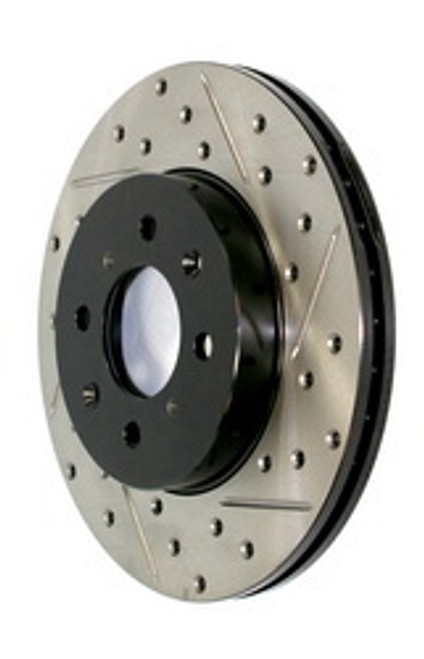 StopTech Sport Drilled and Slotted Front Rotors For 98-05 GS300