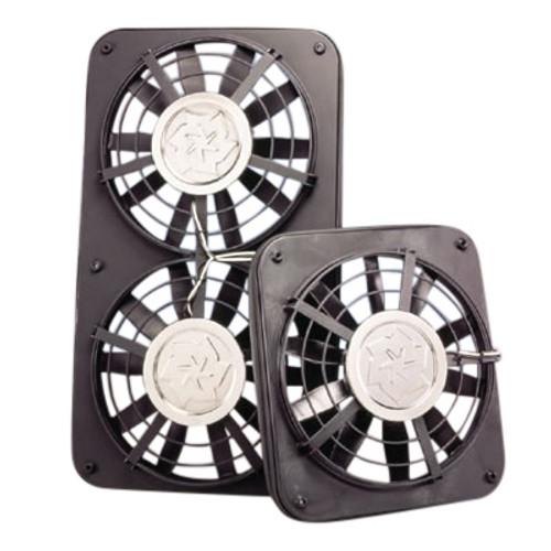 Flex-a-Lite Dual 12in. Electric Fan Kit - Nissan 240sx 89-98