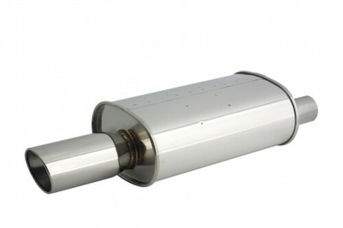 Apexi Universal Muffler WS2 Universal NA (Offset- Left) 60mm Inlet
