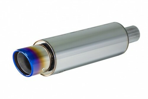 Apexi Universal Muffler, NA (60.5mm inlet), with FULL Titanium tip
