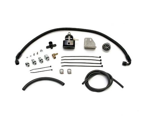 AMS Fuel Pressure Regulator Kit In Black  EVO X for Mitsubishi EVO X