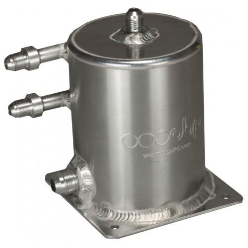 OBP Base Mount 1 Ltr Fuel Swirl Pot with JIC Fittings