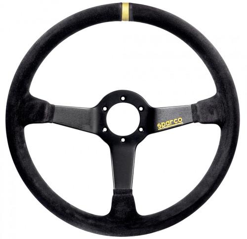 Sparco 368 Suede Black Steering Wheel