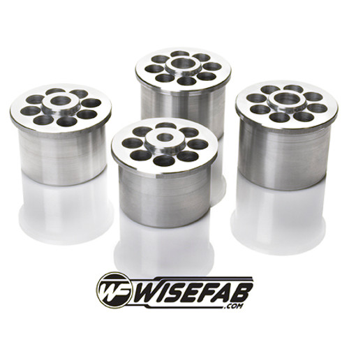 Wisefab Rear Aluminium Subframe Spacers for BMW E46 (set of 4)