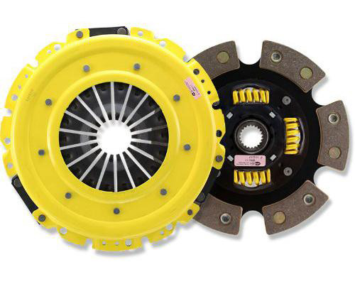 ACT HD Clutch Kit 6 Puck Sprung Disc for 2010-2012 Hyundai Genesis Coupe 2.0T Compatible with Stock Flywheel